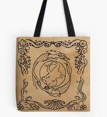 Mermaid Tarot: The World Tote Bag