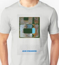 Vintage French Travel Poster - Germany - Allemagne - Air France 1971 Unisex T-Shirt