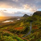 Quiraing Sunrise Isle of Skye Scotland by Adrian Alford Photography