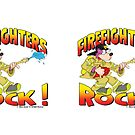FireFighters Rock Drinkware by MartyToons