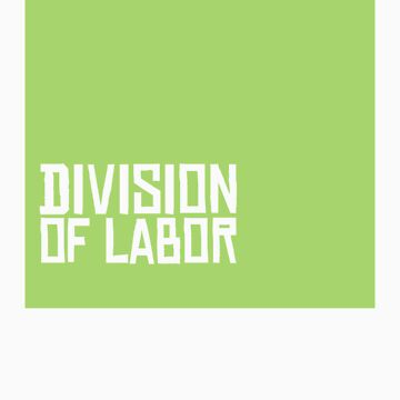Division of Labor Logo (Pea Soup Version) by divisionoflabor