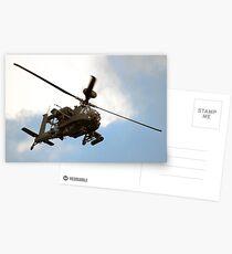 Apache WAH64D Postcards