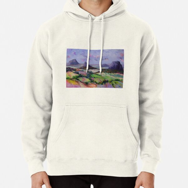 Glasshouse Mountains Dreaming Pullover Hoodie