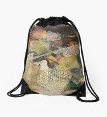 Textured Landscape Drawstring Bag