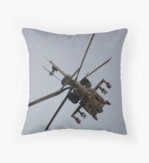 Apache WAH64D Throw Pillow