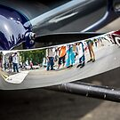 Reflection from an Auburn Bumper by eegibson