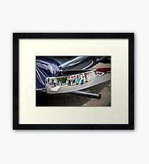 Reflection from an Auburn Bumper Framed Print
