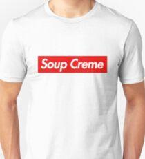 Soup Creme Funny Parody Logo Unisex T-Shirt