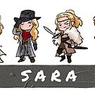 Sara Lance Duck Tape 2 by AG Nonsuch