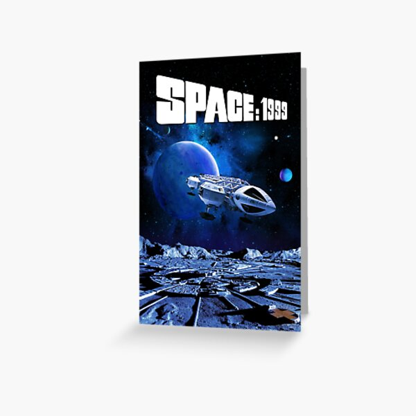 SPACE 1999 EAGLE MODEL 1 Greeting Card