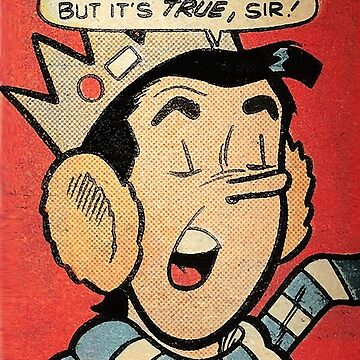 """1982 Vintage Archie Comics Digest - Jughead """"But it's true, Sir!""""  by charlang"""
