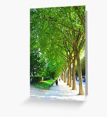 Rue de Vert, Paris  Greeting Card