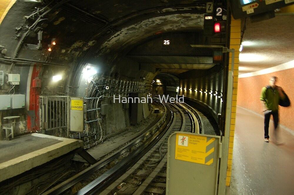 Champs Elysee Metro, Paris by Hannah  Weld
