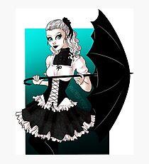 Gothic Lolita Photographic Print