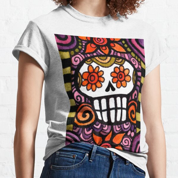 Day of the Dead Sugar Skull Classic T-Shirt