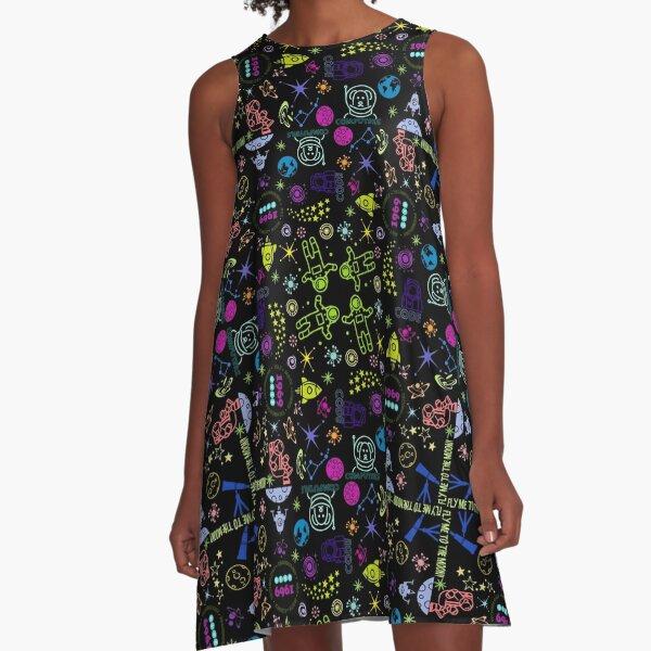 Strauberry Moon A-Line Dress