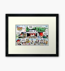 Celebrities Everywhere! Framed Print
