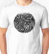 Geometric Forest Wreckage I Unisex T-Shirt