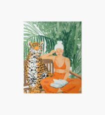 Lámina rígida Jungle Vacay II #painting #illustration