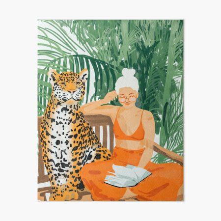 Jungle Vacay II #painting #illustration Galeriedruck