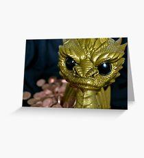 Smaug The Tyranipop Greeting Card
