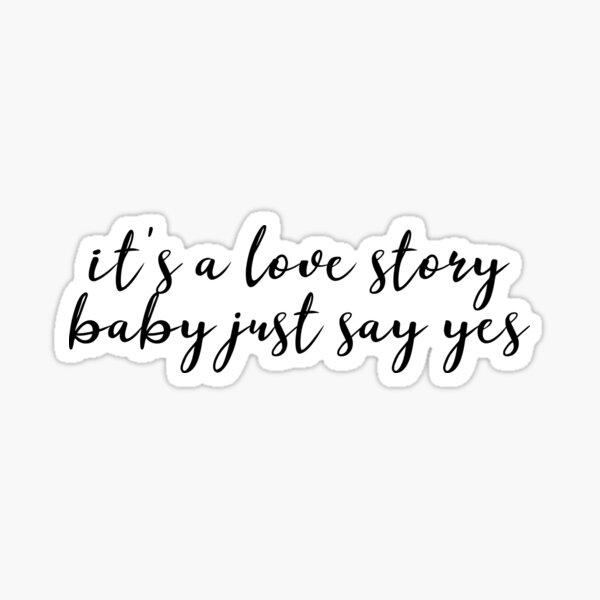 love story Sticker