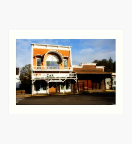 History in Brownsville Art Print