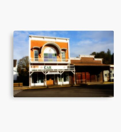 History in Brownsville Canvas Print