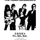 THE HEARTBREAKERS LIVE CBGB'S SUPERCOOL POSTER by westox