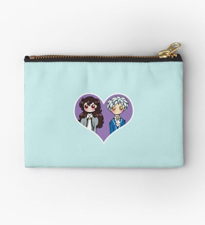 Rue and Mytho - shipping dolls Zipper Pouch