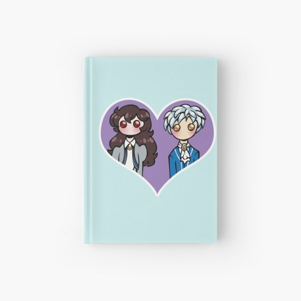 Rue and Mytho - shipping dolls Hardcover Journal