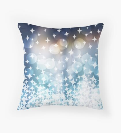 Stardust and Sparkle Flipped Throw Pillow