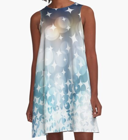 Stardust and Sparkle Flipped A-Line Dress