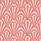Coral shell summer pattern by MagentaRose