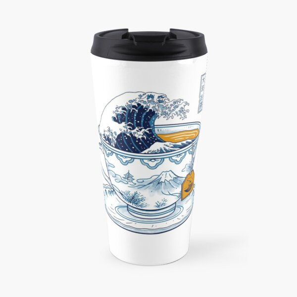 The Great Kanagawa Tea Travel Mug