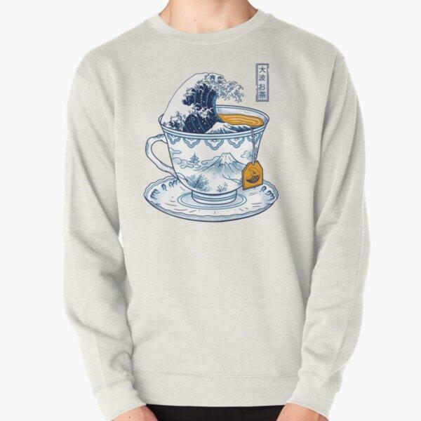 The Great Kanagawa Tea Pullover Sweatshirt