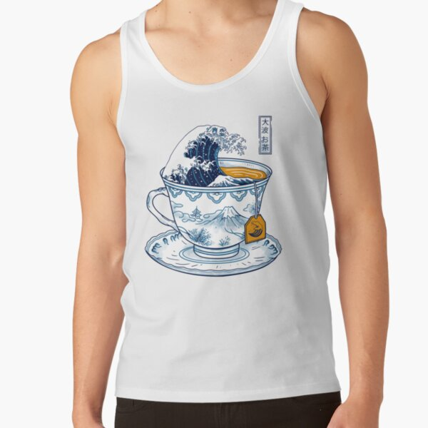 The Great Kanagawa Tea Tank Top