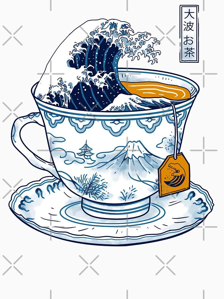 The Great Kanagawa Tea by vincenttrinidad