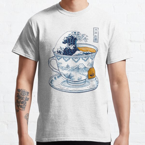 The Great Kanagawa Tea Classic T-Shirt