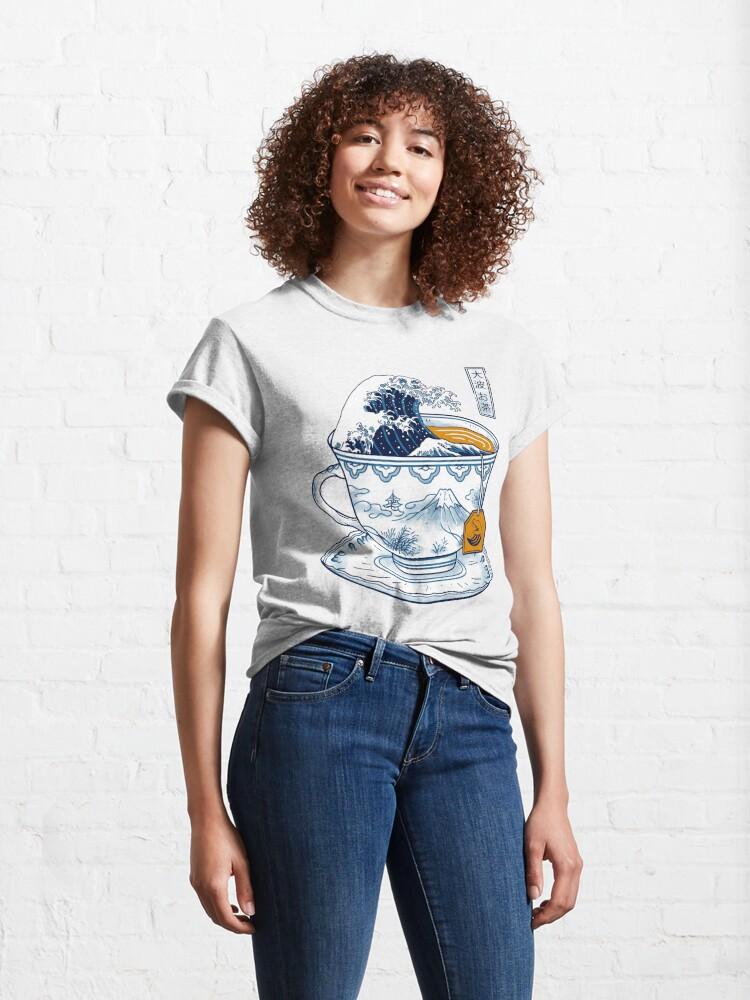 Alternate view of The Great Kanagawa Tea Classic T-Shirt