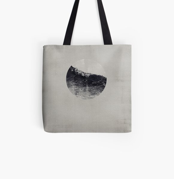 AQUA / 2 Allover-Print Tote Bag