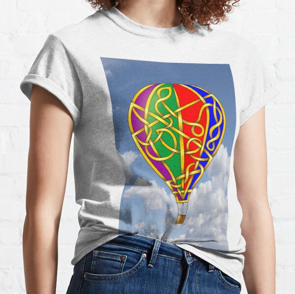 Celtic Knot Balloon Classic T-Shirt
