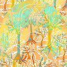 Tropical Batik Forest by Paul Summerfield