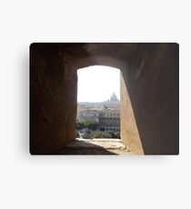 Framing Rome Metal Print