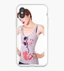 Cherry Cola Pinup iPhone Case
