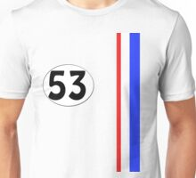 Herbie The Love Bug Jim Douglas Special 53 Unisex T-Shirt