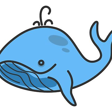 Blue whale by archiba