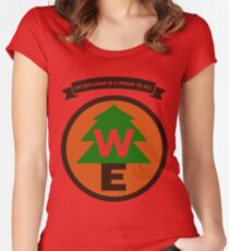 Wilderness Explorer Women's Fitted Scoop T-Shirt