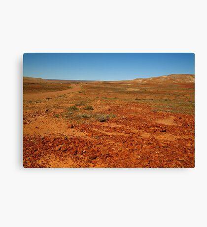 Red Gibber Plain,Oodnadatta Track Canvas Print