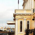 View to Royal Albion Hotel Brighton by Dorothy Berry-Lound